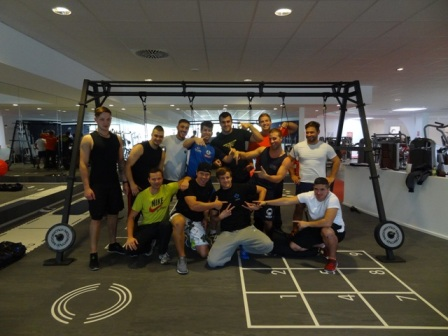 aeroSling Workout mit Personal Trainer Fit mit Chris