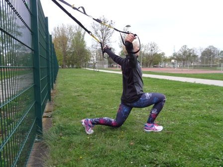Frauen Sport Fitness Outdoor Training Dresden