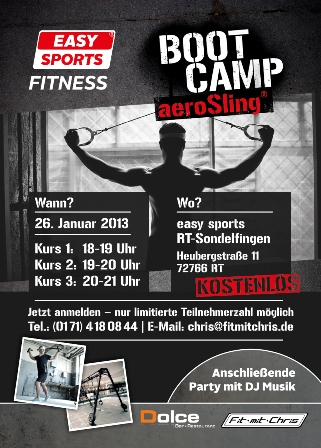 Boot Camp 2013 Fit mit Chris Personaltraining