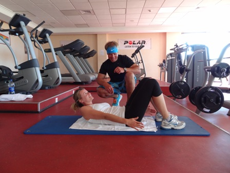 Personal Training Fit mit Chris im Robinson Club