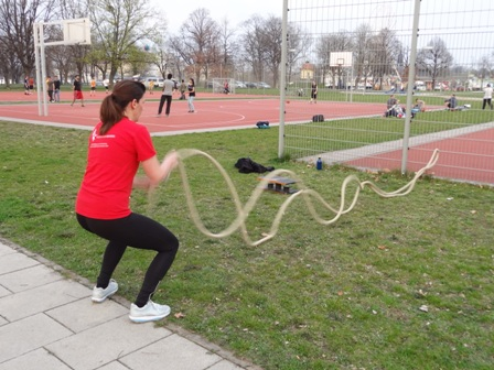 Personal Trainer Fit mit Chris macht Frauenfitness Dresden