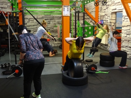 Frauen Sport Fitness Indoor Training Dresden